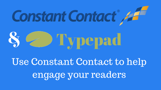 Typepad and Constant Contact