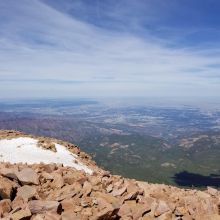 Snow on Pikes Peak 2
