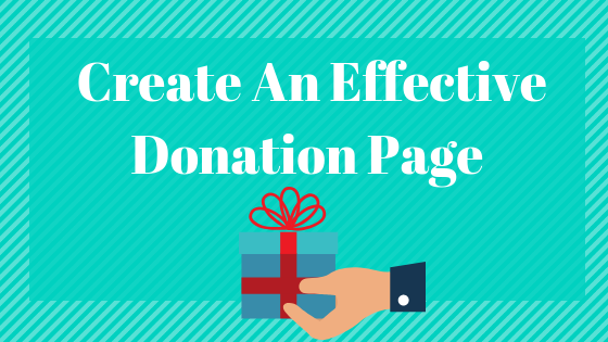 Effective Donation Page