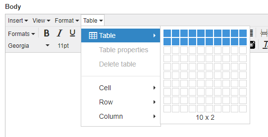 Add A Scroll Bar To Large Tables Everything Typepad